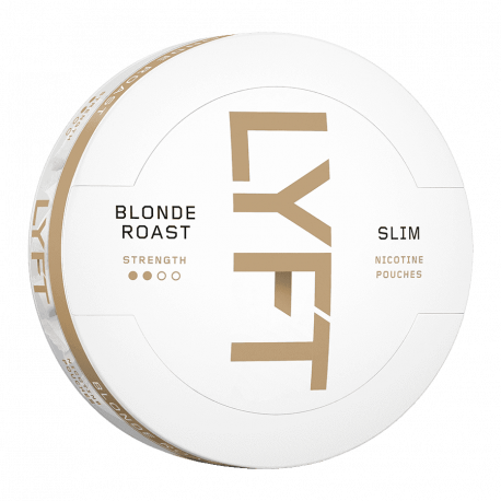 LYFT Blonde Roast Slim All White Portion