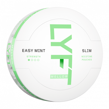 LYFT Easy Mint Mellow All White Portion